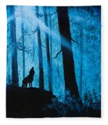 Moonlight Serenade Fleece Blanket