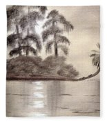 Moonlight Wakulla Springs Fleece Blanket