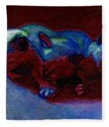 Moonlit Sonata Fleece Blanket