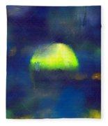 Moonrise Primitive Fleece Blanket