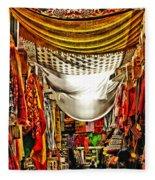 Moorish Market In Granada 2 Fleece Blanket