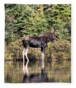 Moose_0609 Fleece Blanket