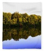 Moraine View State Park Pano 20140718-01 Fleece Blanket