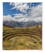 Moray - Peru Fleece Blanket
