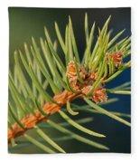 More Spruce Buds Fleece Blanket