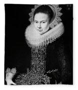 Moreelse Young Lady Fleece Blanket