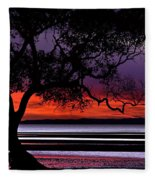 Moreton Bay View Fleece Blanket