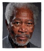 Morgan Freeman Fleece Blanket