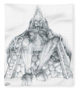 Morgoth Bauglir Fleece Blanket