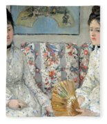 Morisot's The Sisters Fleece Blanket