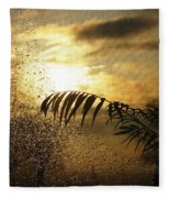 Morning Dew Screen Fleece Blanket