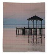 Morning Ducks Fleece Blanket