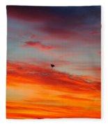 Morning Flight Fleece Blanket