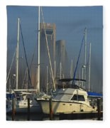 Morning Fog Ll Fleece Blanket