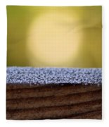 Morning Frost Abstract Fleece Blanket