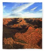 Morning Glory - The Grand Canyon From Kaibab Trail  Fleece Blanket