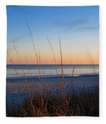 Morning Has Broken At Myrtle Beach South Carolina Fleece Blanket
