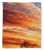 Morning Has Broken Fleece Blanket