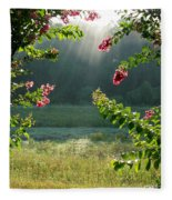 Morning Marsh Fleece Blanket