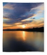 Morning Mirror Fleece Blanket