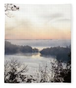 Morning Mist Fleece Blanket