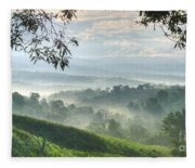 Morning Mist Fleece Blanket