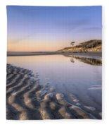 Morning On Jekyll Island Fleece Blanket
