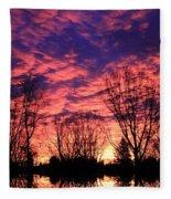Morning Reflection Fleece Blanket