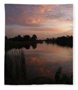 Morning Reflections Fleece Blanket