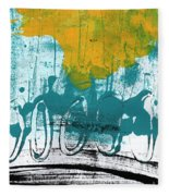 Morning Ride Fleece Blanket