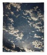 Morning Sky Fantasy Fleece Blanket