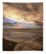 Morning Surf Fleece Blanket