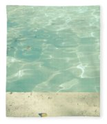 Morning Swim Fleece Blanket