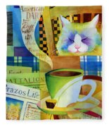 Morning Table Fleece Blanket