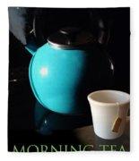 Morning Tea Two Fleece Blanket