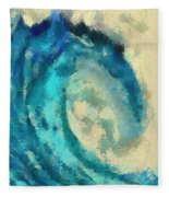Morning Wave Fleece Blanket
