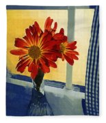 Morning Window Fleece Blanket