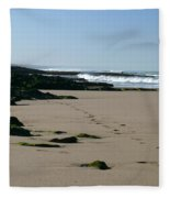 Moroccan Beach Fleece Blanket