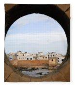 Moroccan View Fleece Blanket