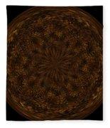 Morphed Art Globe 32 Fleece Blanket