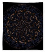 Morphed Art Globes 14 Fleece Blanket