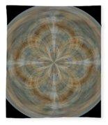 Morphed Art Globes 25 Fleece Blanket