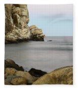 Morro Bay Morning 2 Fleece Blanket