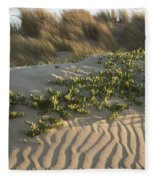 Morro Beach Textures Fleece Blanket