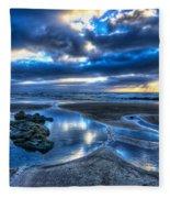 Morro Strand Reflections Fleece Blanket