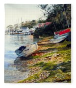 Morro Bay Fleece Blanket
