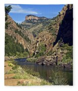 Morrow Point Reservoir Fleece Blanket