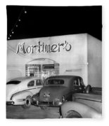 Mortimers Dining  Dancing Marina California  Circa 1948 Fleece Blanket
