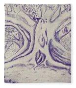 Morton Bay Tree Fleece Blanket