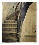 Morton Hotel Stairway Fleece Blanket
